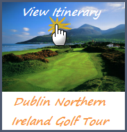 Itinerary Dublin Irish Golf Tours