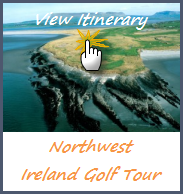 Itinerary Northwest Irish Golf Tours